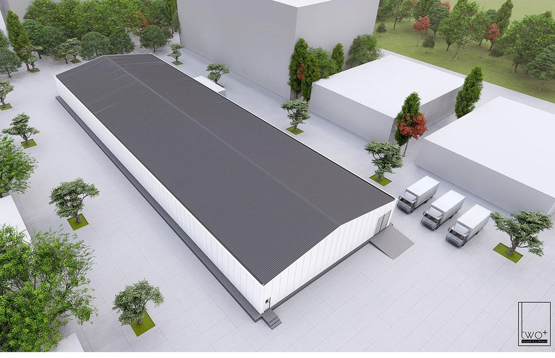 fabrika idari bina tasarımları