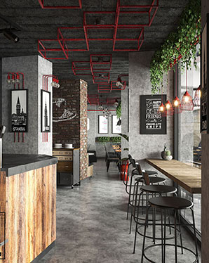 concept cafe designs