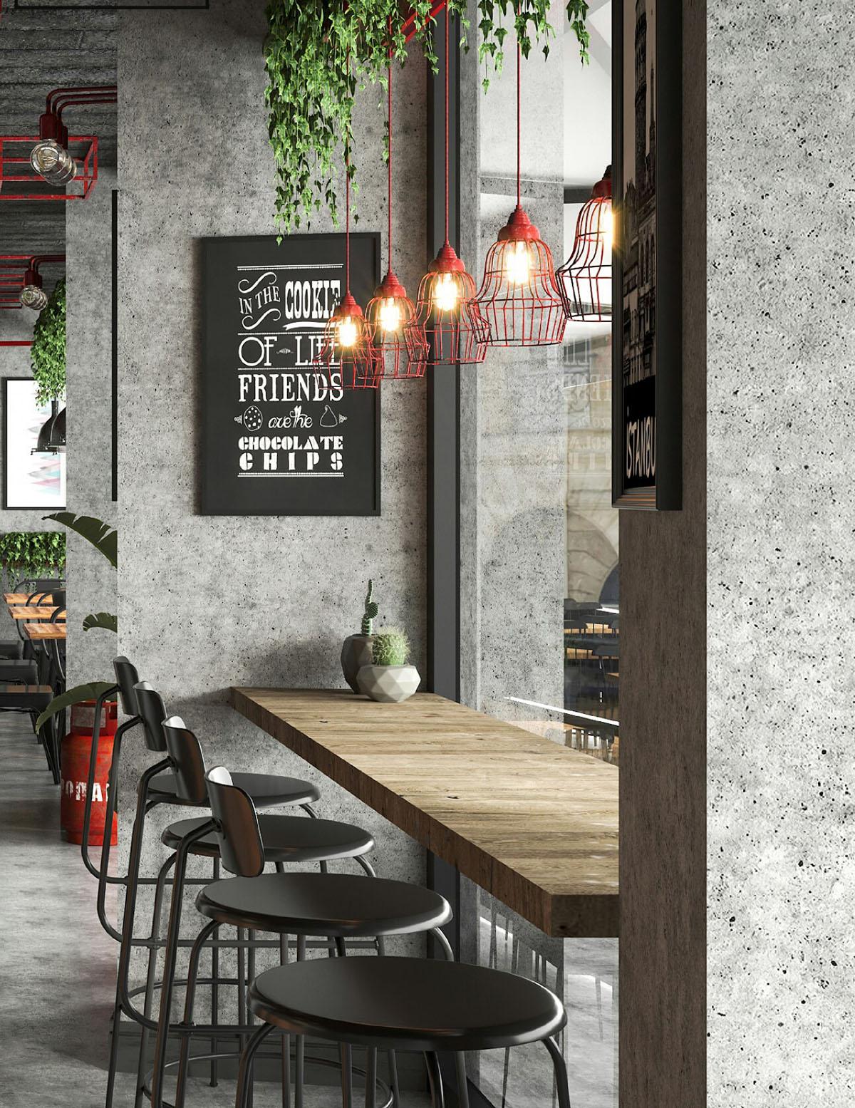 konsept cafe tasarımları