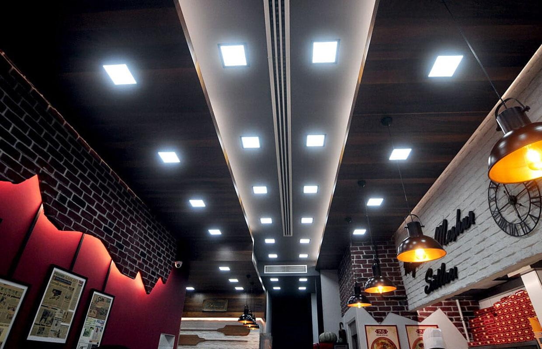 restoran iç mekan tasarımları