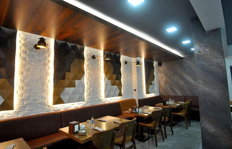restaurant iç mekan tasarımları