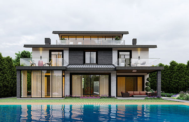 architectural villa projects