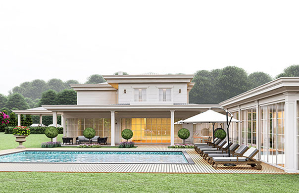 villa interior designs
