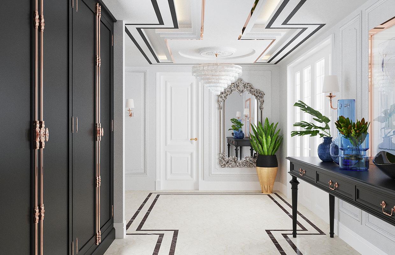 villa iç dekorasyon