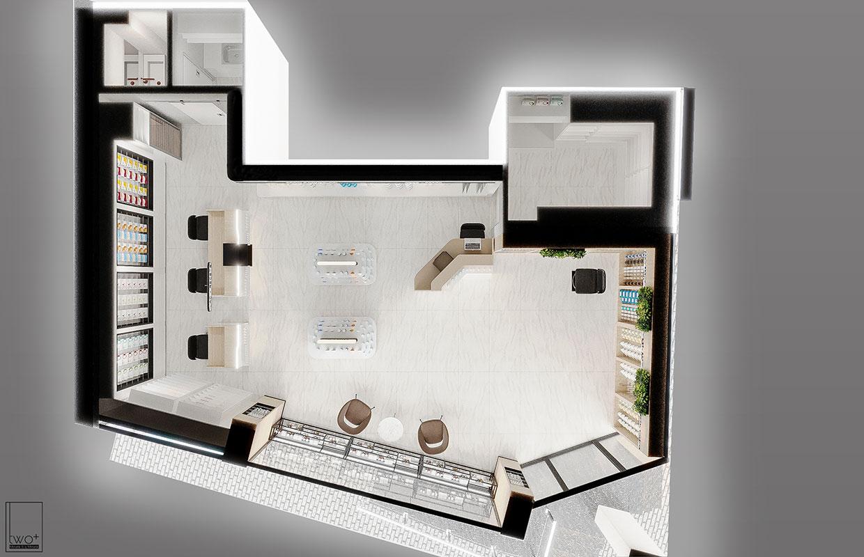 modern eczane tasarımları